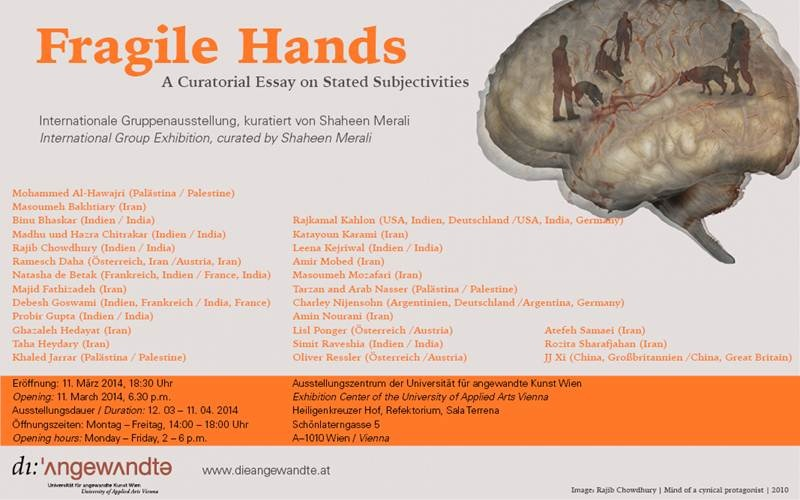 Fragile Hands Poster