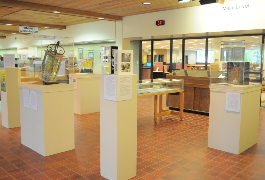 3b Access Denied exhibition, Hilton M. Briggs Library, July 22-Oct. 8, 2010.
