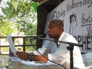 CS at Gramsci monument Reading and discussion