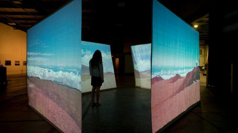 Hasan Elahi's 'Peak,' image courtesy of Chris Roher
