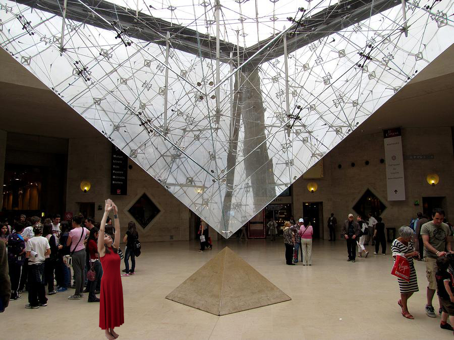 Morning Star Evening Star Performance Proposal at the Louvre, 2016