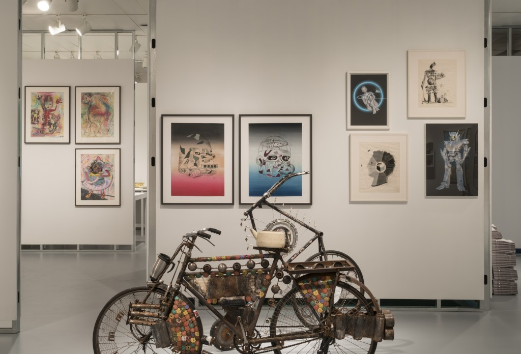 Exhibition view of Unorthodox at The Jewish Museum, NY