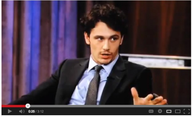 james franco defends non visible art on jimmy kimmel museum of non